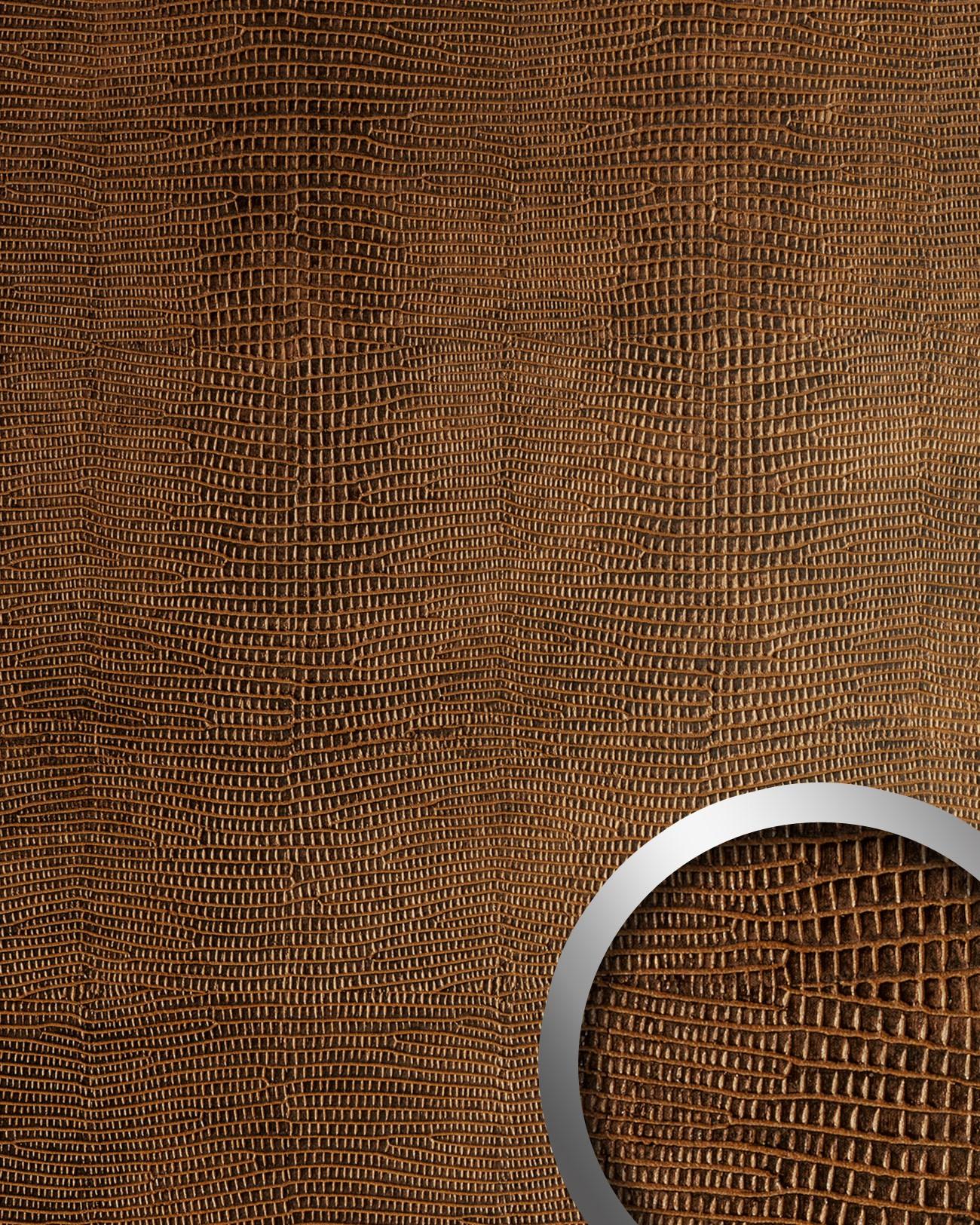 wandpaneele leder tapeten shop. Black Bedroom Furniture Sets. Home Design Ideas