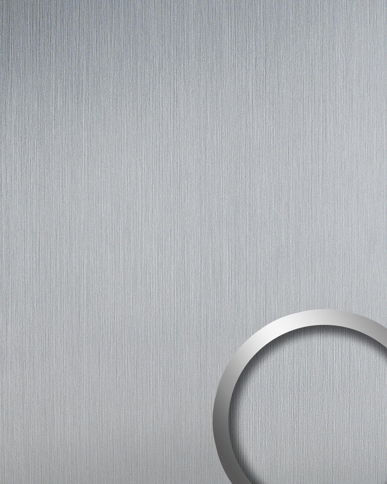 Selbstklebende Design Tapete : Design Platte WallFace 14409 DECO EyeCatch Metall Dekor selbstklebende