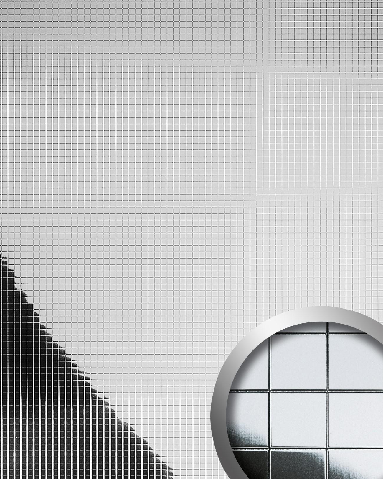Selbstklebende Tapete Mosaik : Wandpaneele Mosaik www.PROFhome.de Tapeten Shop