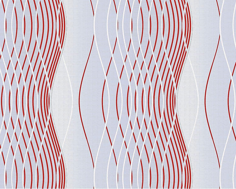 Muster Tapete Vliestapete : grafische-muster-tapete-vliestapete-edem-693-92-1