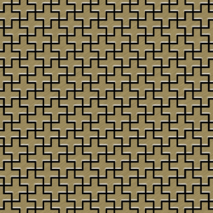 mosaic-swiss-cross-metal-sheet-gold-brushed